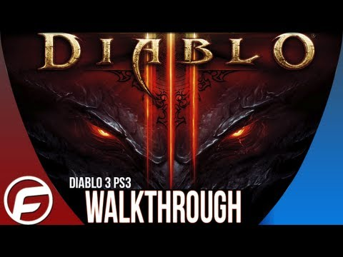 Diablo 3 Walkthrough Part 1 Welcome to Tristram Gameplay Playthrough Lets Play [PS3]