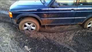 3.Mud Offroad Land Rover Discovery and Subaru Outback