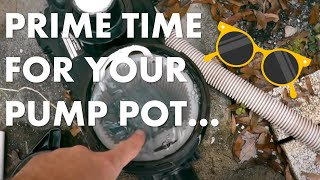 how to make a portable vacuum pump