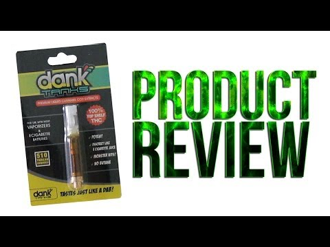 Dank Tanks Review Marijuana Dab Concentrate Wax Vaporizer Pen Attachment Self Contained