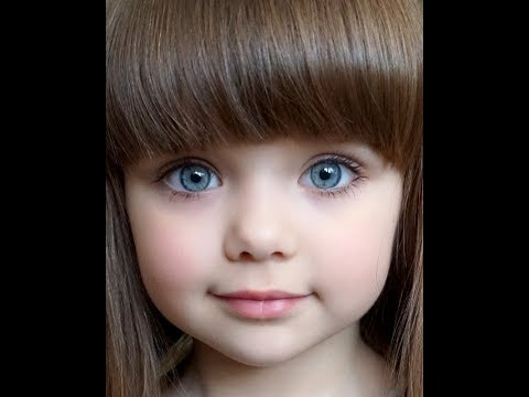 Anastasiya Knyazeva - Most Beautiful Russian Child Model (Анастасия Князева)