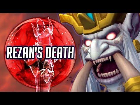 Rezan's Death & Zul's Betrayal - Zandalar Story (WOW BFA)
