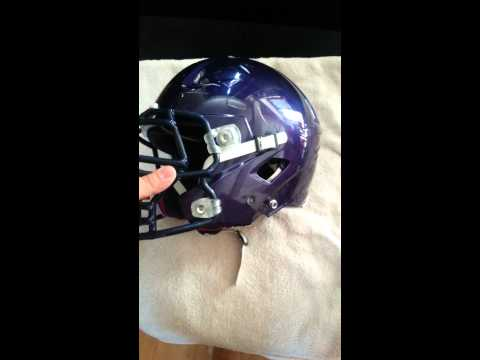 Riddell Revolution 360 with big grill facemask