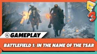 Lupkow Pass Gameplay - Battlefield 1: Name of the Tsar DLC | E3 2017