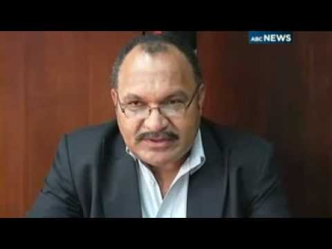 20120126 ABC Radio Australia News-Stories-PNG mutiny over, says O'Neill.wmv