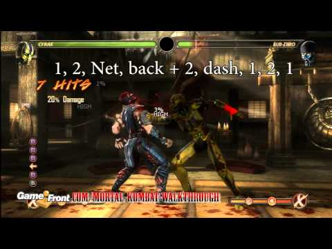 Mortal Kombat Walkthrough - Kombatant Strategy Guide - Cyrax