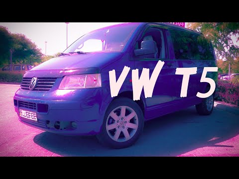 VW T5 1.9 TDI axb 77 kw. Off road test VolkswagenTransporter T5
