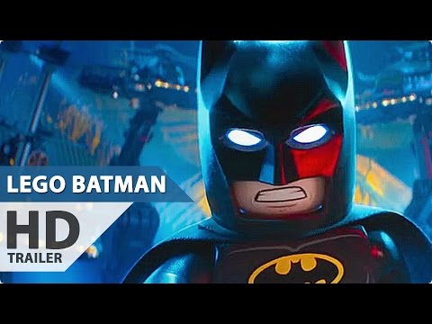 THE LEGO BATMAN MOVIE All Trailer + Clips (2017)