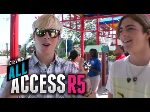 R5 Interview Each Other & Goof Off at Navy Pier - Clevver All Access Episode 6