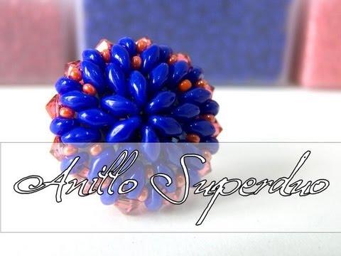 Abalorios DIY - Anillo con Superduo