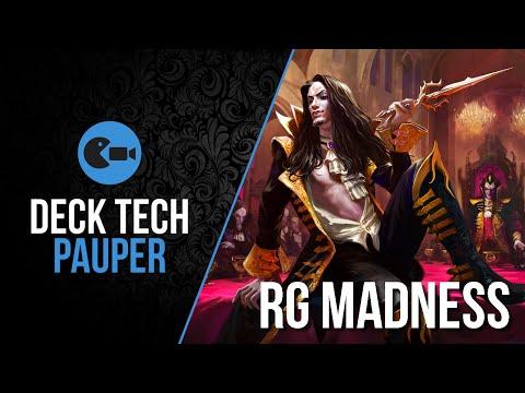 Deck Tech  RG Madness Pauper
