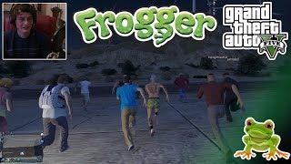 GTA 5 FROGGER GAME MODE! (w/Facecam)