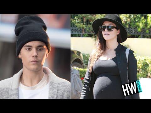WTF! Kourtney Kardashian PREGNANT With Justin Bieber's Baby?!