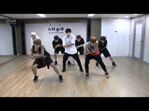 BTS 'Danger' mirrored Dance Practice