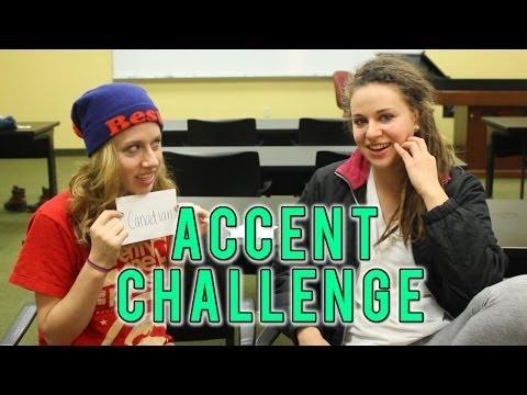 Accent Challenge ? The University Kids - 12/23/2013