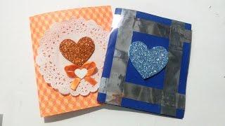 DIY | Tarjeta Pop Up Corazón | Regalo Para 14 De Febrero | Fácil Y Original