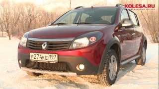 Тест-драйв Renault Sandero Stepway vs Skoda Fabia