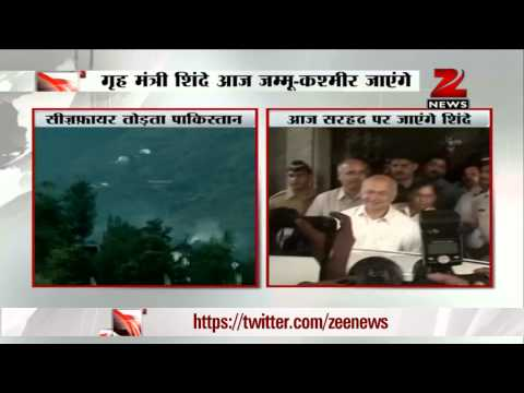 J&K: Sushilkumar Shinde to review border security