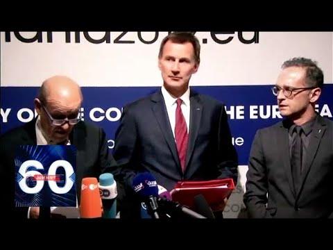 США в панике! В ЕС придумали, как ОБНУЛИТЬ американские санкции! 60 минут от 01.02.19