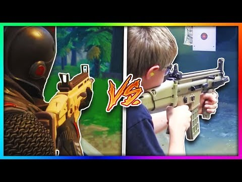 13 Of The Craziest Fortnite Weapons in Real Life