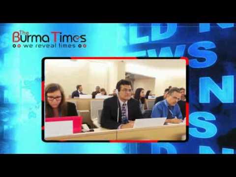 Burma Times TV Daily News 17.06.2015