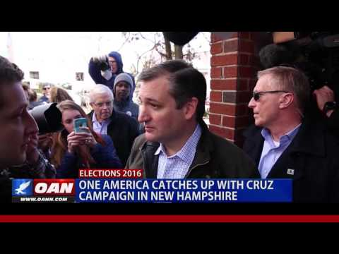 One America Catches Up With Cruz Campaign in New Hampshire