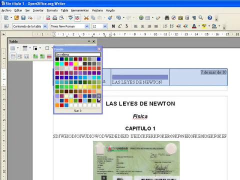 Videotutorial de como usar Writer de OpenOffice.wmv