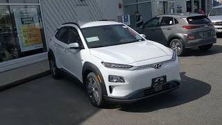 2019 Kona Electric EV preferred trim  feature review! (Canadian model) Mertin Hyundai Chilliwack