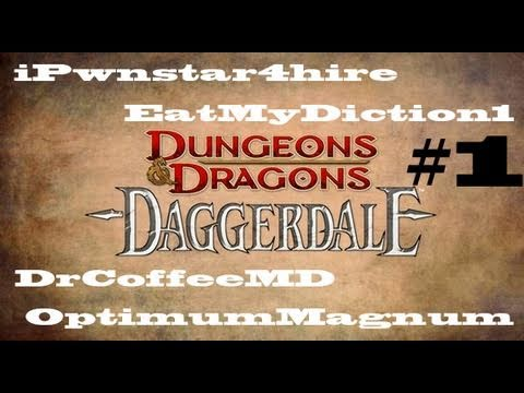 DUNGEONS & DRAGONS DAGGERDALE WALKTHROUGH GAMEPLAY VIDEO