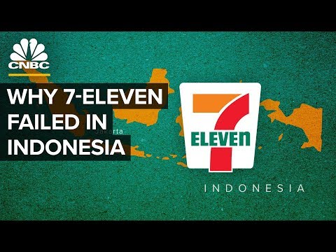 Why 7-Eleven Failed In Indonesia