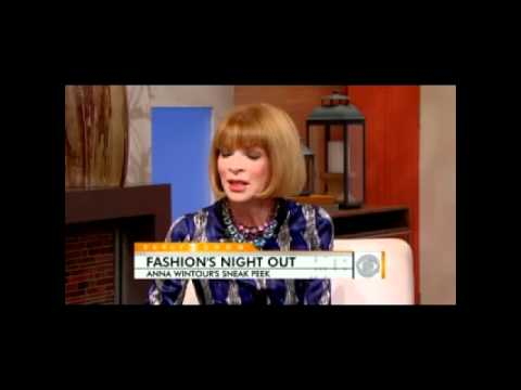 Anna Wintour on Fashion s Night Out