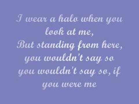 Halo - Haley James Scott (lyrics)