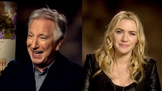 Alan Rickman & Kate Winslet answer your questions