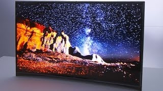 Would You Buy a Curved TV For Gaming? - CES 2013
