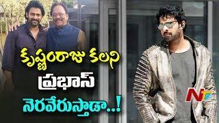కృష్ణంరాజు కలని ప్రభాస్ నెరవేరుస్తాడా ..? ప్రభాస్ ముందు రెండు లక్ష్యాలు... | NTV