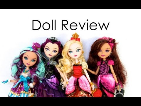 Doll Collection Review : Ever After High   The Red Gumball