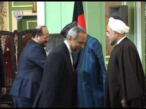 President Karzai's visit to Iran   Dec 08, 2013