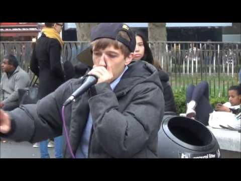 Great Beatbox Performance In Leicester Square By Contrix, London Street Music video