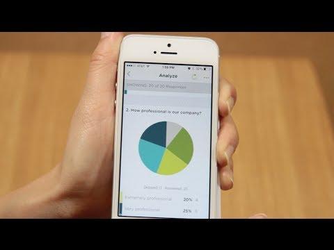 The SurveyMonkey App for iPhone® and iPad®