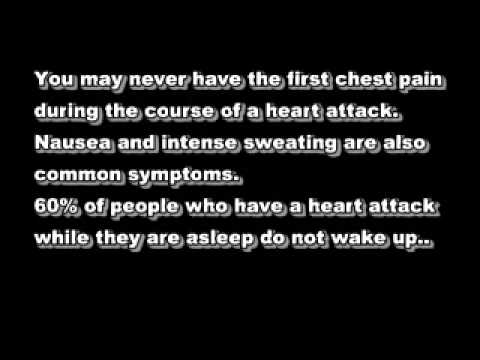Heart attack and drinking water