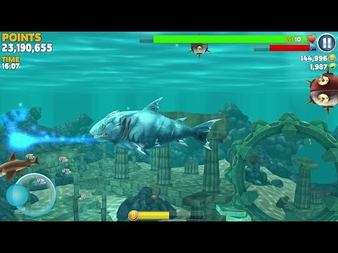 Hungry Shark Evolution Ice Shark Android Gameplay #6