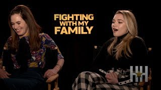 'Fighting With My Family' Cast Reveals What The Rock Is Really Like