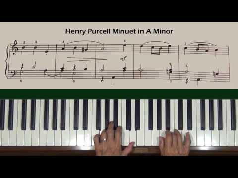 Пёрселл Генри - Minuet In A Minor