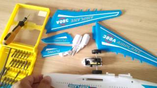 Download [Fun Kid Garden] Assemble toy aircraft repair, airplan for children Can fly high 3Gp Mp4