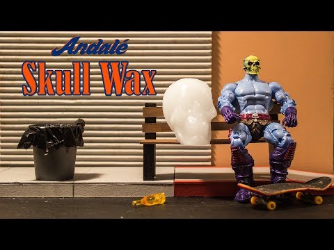 Skull Wax Session With Skeletor | Andale Bearings