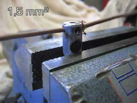 Watch Dénudeur câble électrique rom1f manuel wire stripper manual video
