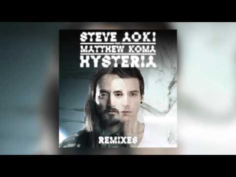 Steve Aoki - Hysteria feat. Matthew Koma (Dirty Audio Remix) [Cover Art]