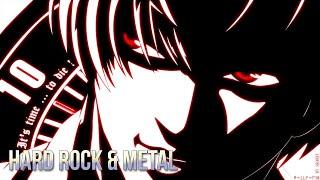 TOP 20 HARD ROCK & METAL OPENINGS ANIME #1