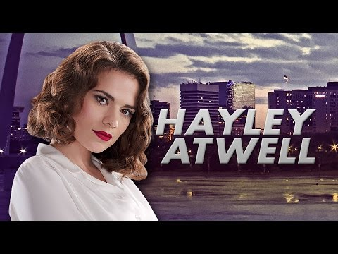 AGENT CARTER Hayley Atwell at Wizard World Comic Con Philadelphia