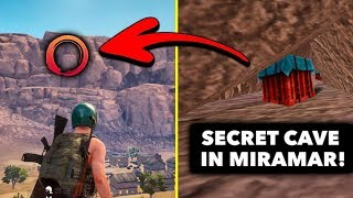 Top 5 NEW Secret Locations in PUBG Mobile! (Secret Cave)